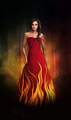 Lady in Red - katniss-everdeen photo
