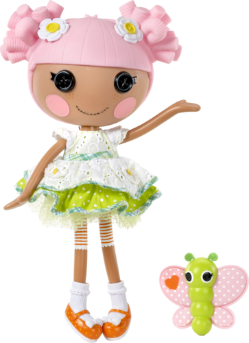 Lalaloopsy karatasi la kupamba ukuta probably containing a bouquet called Lalaloopsy Taart