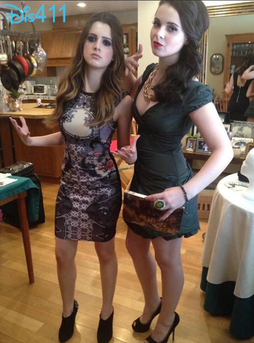 Laura And Vanessa Nylon Magazine Party - Laura Marano (Ally