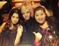 Laura, Ross & Raini - ross-lynch-austin photo