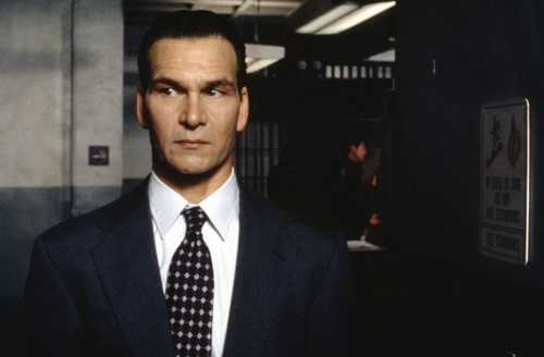 Patrick Swayze wallpaper containing a business suit and a suit entitled Letters from a Killer