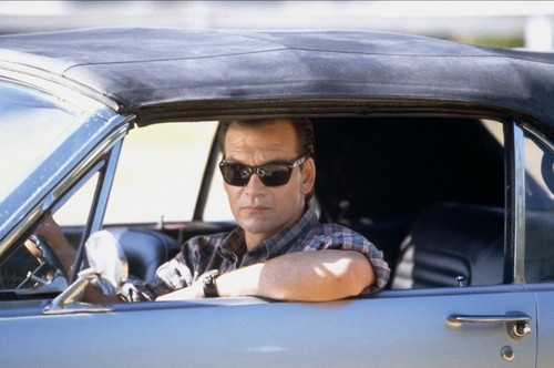 Patrick Swayze wallpaper containing an automobile called Letters from a Killer