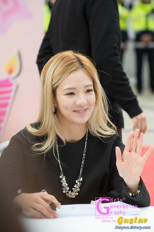 Lotte Fansign-Hyoyeon