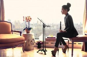 Lucy Liu// Watch! Magazine October 2013
