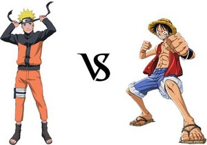 Luffy and Naruto