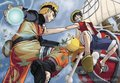 Luffy and NARUTO -ナルト-