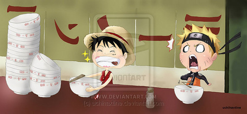 anime debat wallpaper titled Luffy vs naruto
