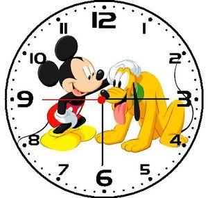 MIckey Pluto Clock