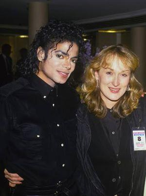 MJ & Meryl Streep
