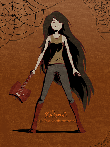 Marceline wallpaper possibly containing anime entitled Marcy