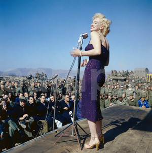 Marilyn In North Korea Back In 1954