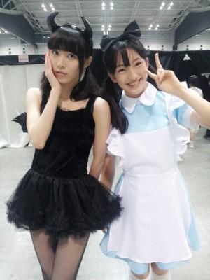Matsui Jurina and Tashima Meru