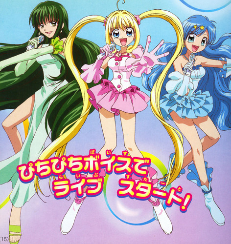 Mermaid Melody Hintergrund containing Anime titled Mermaid Melody Comic