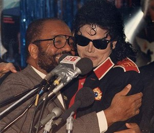 Michael And Berry Gordy