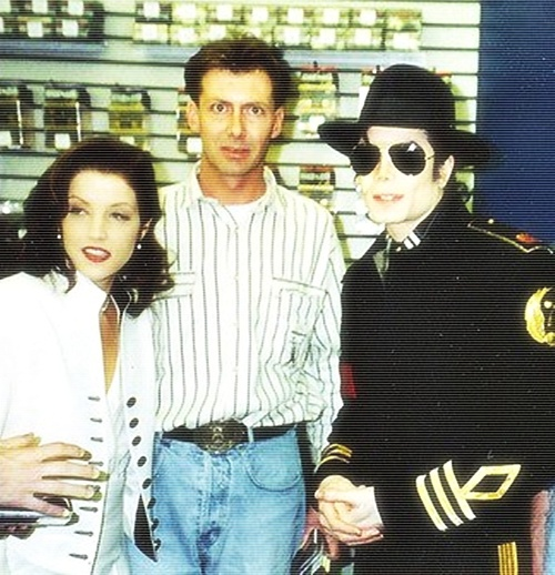 Michael And Lisa Marie In Memphis