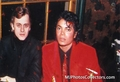 Michael And Mikhail Baryshnikov - michael-jackson photo