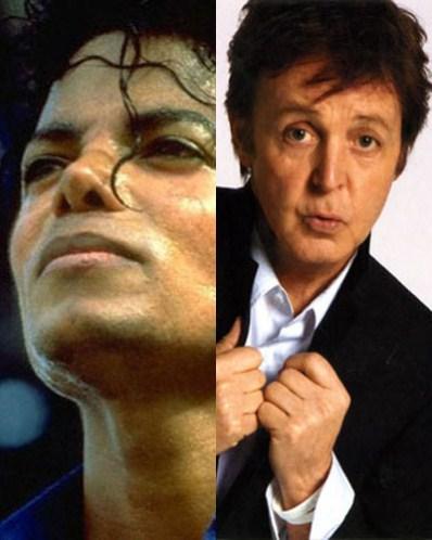 Michael And Paul McCartney