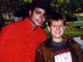 Michael And Ryan White - michael-jackson photo