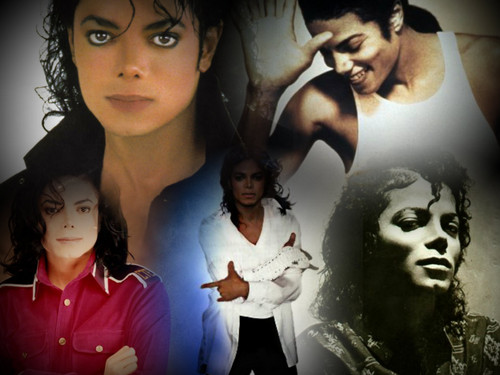 Michael Jackson wallpaper with anime entitled Michael ♥