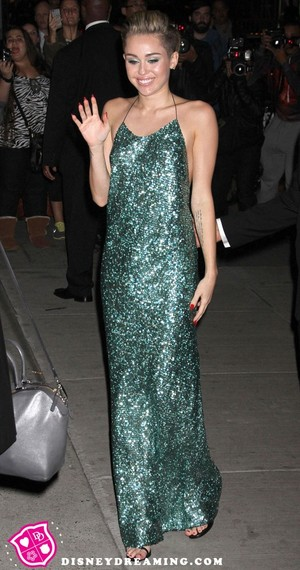 Miley Cyrus Attends The Night Of Stars In New York City 2013