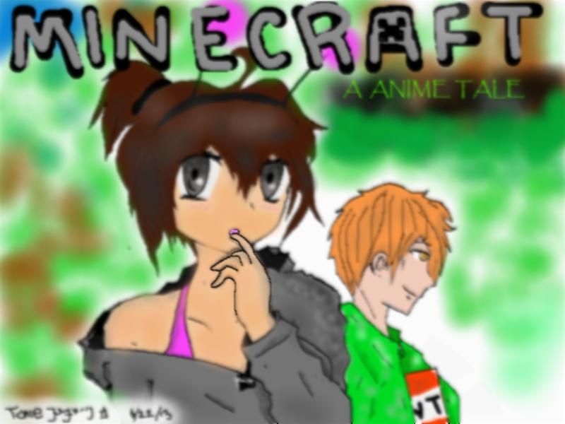 Minecraft Aat Cover Art 1 Minecraft Aata Animé Tale Fond