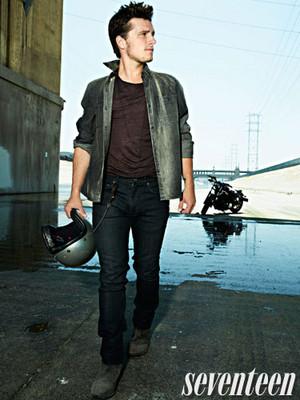 mais outtakes of Josh Hutcherson for Seventeen Magazine