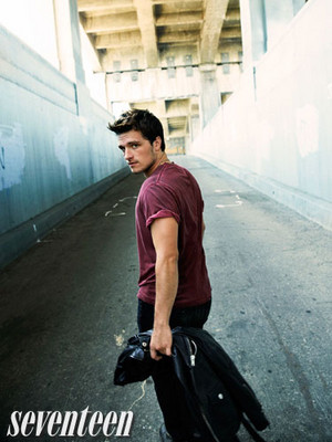 More outtakes of Josh Hutcherson for Seventeen Magazine