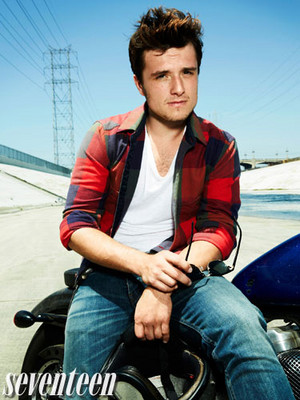 और outtakes of Josh Hutcherson for Seventeen Magazine