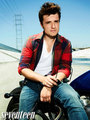 zaidi outtakes of Josh Hutcherson for Seventeen Magazine