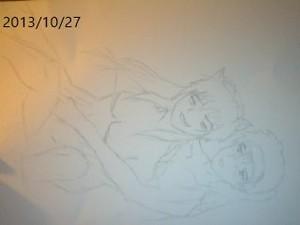 My yaoi Sketch Part 1