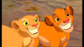 Nala and Simba - the-lion-king wallpaper