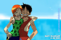 NamiXLuffy - anime-couples fan art