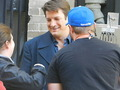 Nathan-BTS season 6 - nathan-fillion-and-stana-katic photo