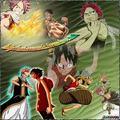 Natsu and Luffy - anime-debate fan art