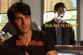 Nick Burkhardt has to shave - Grimm - Season 3