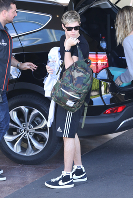 Oct 30TH - Arriving at Rod Laver Arena in Melbourne