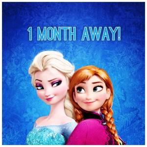 One maand Away!