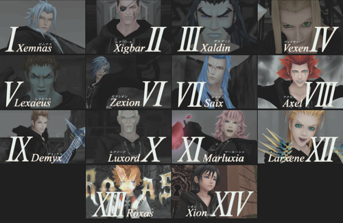 kingdom hearts fondo de pantalla possibly with anime called Organization XIII