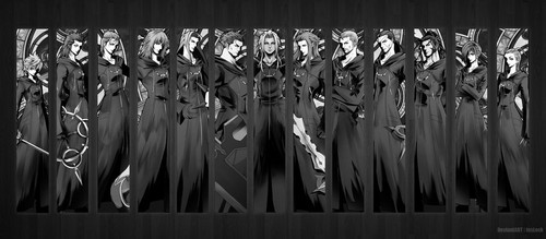 Kingdom Hearts kertas dinding entitled Organization XIII