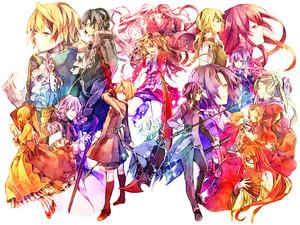 Pandora Hearts characters