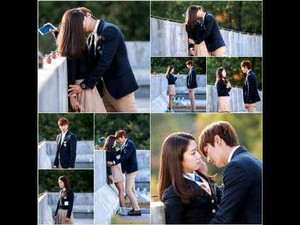 Park Shin Hye And Lee Min Ho First kiss Scene in The Heirs