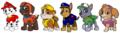 Paw Patrol - Pups