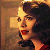 Random photo containing a portrait entitled Peggy Carter Icons