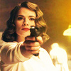 Random photo possibly containing a portrait titled Peggy Carter Icons