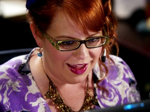 criminal minds wallpaper probably containing a portrait called Penelope Garcia