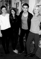 Phoebe Tonkin, Nina Dobrev, Paul Wesley & Candice Accola in Savannah, Georgia - the-vampire-diaries fan art