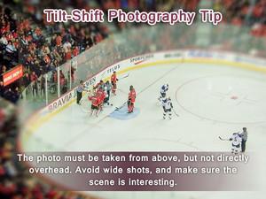 Tilt Shift Fotografia Tip