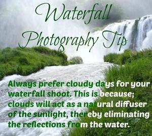 Waterfall Fotografia Tip