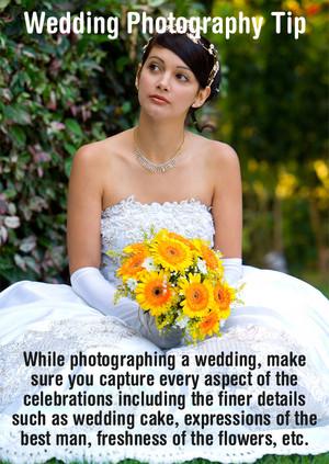 Wedding fotografia Tip