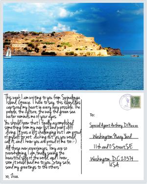 Postcards to Tony: Spinalonga Island, Greece